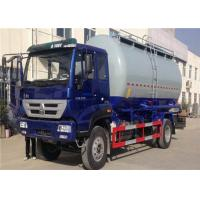 Wholesale HOWO 6 Wheel Cement Carrying Trucks , 4x2 10m3 Bulk Tank Truck High Safety / Reliability from china suppliers