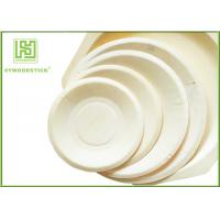 Wholesale Eco - Friendly Disposable Wooden Plates Biodegradable Bamboo Plates OEM from china suppliers