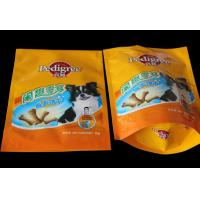 Wholesale pet foods bag with zipper from china suppliers