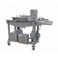 Quality Stainless Steel Chicken Nuggets Processing Line , Batter Breading Machine for sale