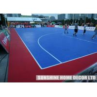 Wholesale PP Removable Athletic Floor Mats / Interlocking Sports Flooring , Anti UV from china suppliers
