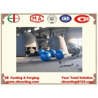 Wholesale Big Crushing Cast Balls Mn13Cr2 for Breaking Large Ores EB15016 from china suppliers