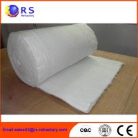 Wholesale Fireproof Refractory Ceramic Fiber Blanket Insulation For Industrial / Steel from china suppliers