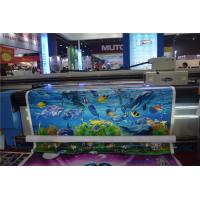 Quality uv led printer for both roll to roll and flat material wallpaper fabric uv printer for sale