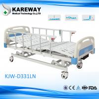 Wholesale Plastic Cranks Hospital Patient Bed 3 Functions , Clinic / Medical Equipment Bed from china suppliers
