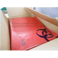 Wholesale Autoclave Biohazard Bags / Waste Bag / Biohazard Garbage Bags, Plastic BioHazard Zip Lock Medical Specimen Bags for Lab from china suppliers