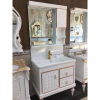 Wholesale Antique Pvc Vanity Cabinets Soft Close Door Contemporary Bathroom Vanity Sets from china suppliers