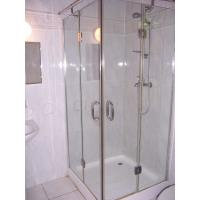 Wholesale 12MM clear flat tempered glass as shower room  decoration from china suppliers