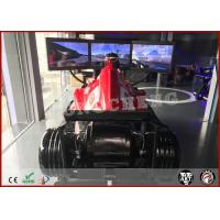 Wholesale Attractive Vr F1 Car Racing Simulator 9D Virtual Reality Driving Platform With 3 Screens from china suppliers