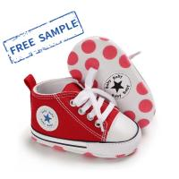 Wholesale Designer wholesale Canvas shoes first Walker kids boy and girl  crib Baby shoes from china suppliers