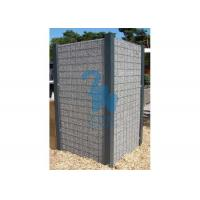 Quality Iron Net Steel Gabion Baskets Retaining Wall Gabion Cages 600 * 300 * 300mm for sale
