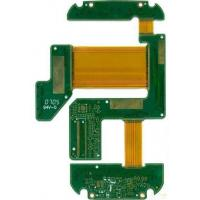 Buy cheap Four Layers FR4 And PI Rigid Flex PCB Design with Flex 0.075mm Rigid 0.1mm from wholesalers