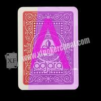 Wholesale Gambling Modiano Adjara Invisible Playing Cards For Poker Cheat UV Contact Lenses from china suppliers