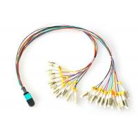 Wholesale FTTH MPO - LC Fiber Optic Patch Cord OM3 OM4 Patch Cord Multi-mode from china suppliers