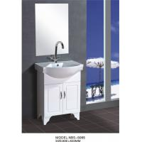 Wholesale 60 X48X85/cm PVC stand bathroom cabinet / bathroom vanity / with mirror for bathroom from china suppliers