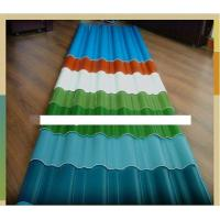 Wholesale Colored Corrugated Carbon Steel Coil Roofing Sheet / Panel , AISI , ASTM from china suppliers