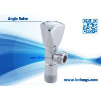 Wholesale Brass Angle Valve Sanitary Ware Accessories With Zinc Triangle Handle from china suppliers