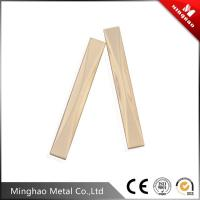 Wholesale Rectangular long style light gold metal bag frame accessories 11.13*83.75mm from china suppliers