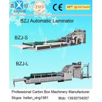 Wholesale Corrugated Sheet Automatic Laminating Machine Feeding Size 1600 x 1100mm from china suppliers