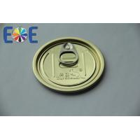 Quality Metal Easy Open Can Lids For Vacuum Packing / Drinks Can Lid for sale