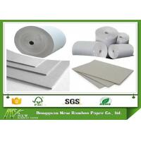 Wholesale Uncoated Carton Gray Paper Roll / Cardboard Sheets For Laminated Paper Board from china suppliers