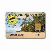 Wholesale Smart Card-Contact IC Card with SLE5528, SLE5552 and AT24C16 Chips from china suppliers