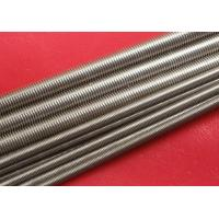 Wholesale Plain Stainless Steel Threaded Rod Grade A2 / A4 M100 from china suppliers