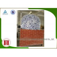Wholesale Napoli Style Italy Pizza Oven Gas Heating Natural Commercial Brick Pizza Oven from china suppliers