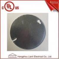 Wholesale Steel Round Electrical Outlet Covers , 0.80mm to 1.60mm Thickness from china suppliers