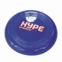 Wholesale Plastic dog Frisbee, various sizes are available from china suppliers