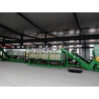 300kg/H 500kg/H 1000kg/H HDPE Milk Bottle Plastic Recycling Machines Crushing Washing Drying Line