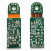 Buy cheap Rigid-flexible PCB with Hole Size of 0.3mm and 6mil Trace Width Space from wholesalers