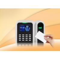 Wholesale Simple 2.8 inch TFT screen Fingerprint Time Attendance Machine System for Office from china suppliers