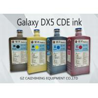Wholesale Galaxy CDE Disperse Sublimation Water Based Dye Ink 4 Color For Epson DX5 Head from china suppliers