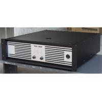 Quality Concert Sound Equipment / 2x1200W Class H High Power Analogue Amplifier For Subwoofer for sale