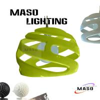 Quality MASO Lighting Indoor Resin Pendant Lamp MS-P1055 Ember Finished Color E27 Lighting Base for sale