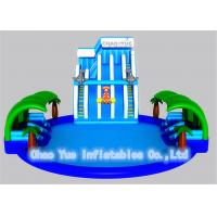 Wholesale Customized Inflatable Water Park with Swimming Pool Slide for Ground from china suppliers