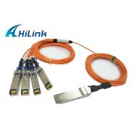 Wholesale Hot Pluggable QSFP Optical Cable QSFP-4X10G-AOC2M Energy Saving Hilink Brand from china suppliers