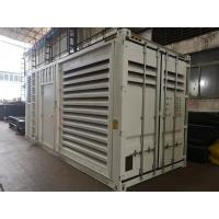China Soundproof Container Diesel Generator , Heavy Duty 20ft Container Generator Set on sale