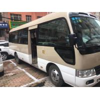 China Diesel Fuel Used Toyota Coaster Bus 2010 Year With 27 Comfortable Seats on sale