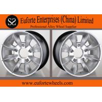 Wholesale 16 inch 4 x 4 Off Road Wheels 16 x 8 Hyper Silver Aluminum Alloy SUV Wheels from china suppliers