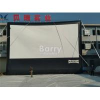 Wholesale Cloth Inflatable Movie Screen For Outdoor Event , Inflatable Projector Screen from china suppliers