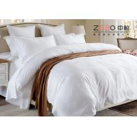 Wholesale Various Size Hotel Collection Linen Bedding , Hotel Bedroom Set ZEBO-HB00028 from china suppliers