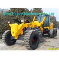 Wholesale Customized 15000kg Small Motor Graders GR165 with D6114 Engine , Yellow from china suppliers
