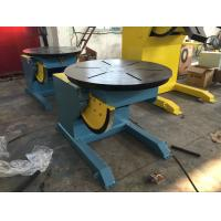 Wholesale VFD Control Welding Rotary Table / Welding Positioner Turntable Rated Load Cap 600Kg from china suppliers