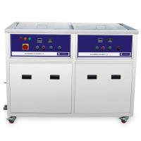 Wholesale 2 tanks Multi Frequency Ultrasonic Cleaner ultrasonic cleaning machine for Turbochargers from china suppliers