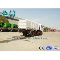Quality Hydraulic Mini Garbage Compactor Trucks With Detachable Carriage Sinotruk for sale