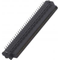 Wholesale T Type 100 Pin Computer Pin Connectors 1.27mm  Male 90°DIP 35mΩ Max For Electronic from china suppliers