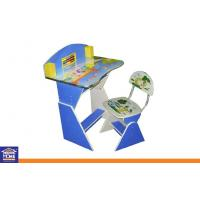 Buy cheap Mini Blue Study Desk Furniture Study Table And Chair For Kids from wholesalers