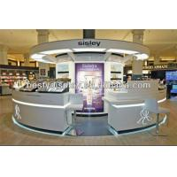 Wholesale top quality fancy cosmetic display kiosk for mall from china suppliers